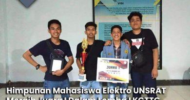 Himpunan Mahasiswa Elektro (HME) berprestasi di ajang Karya Cipta Teknologi Tepat Guna