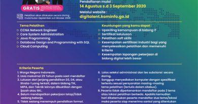 Digital Talent Scholarship – Fresh Graduate Academy 2020