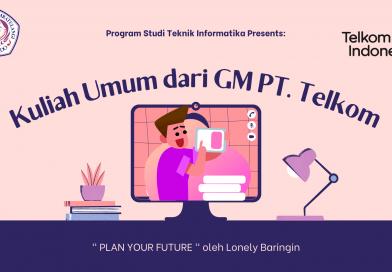Kuliah Umum dari GM PT. Telkom Sulut & Malut
